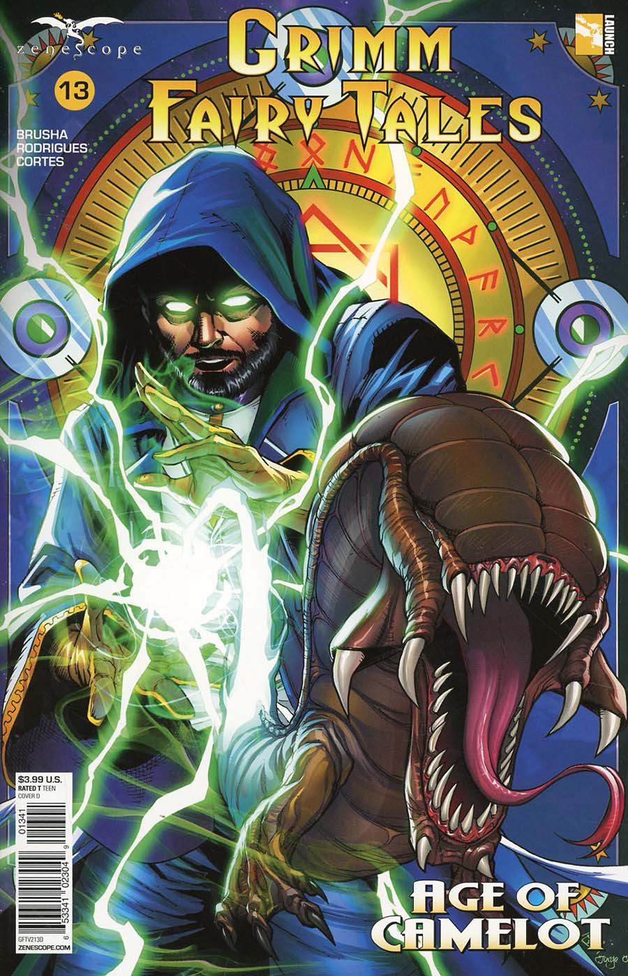 Grimm Fairy Tales Vol 2 #13 Cover D Anthony Spay
