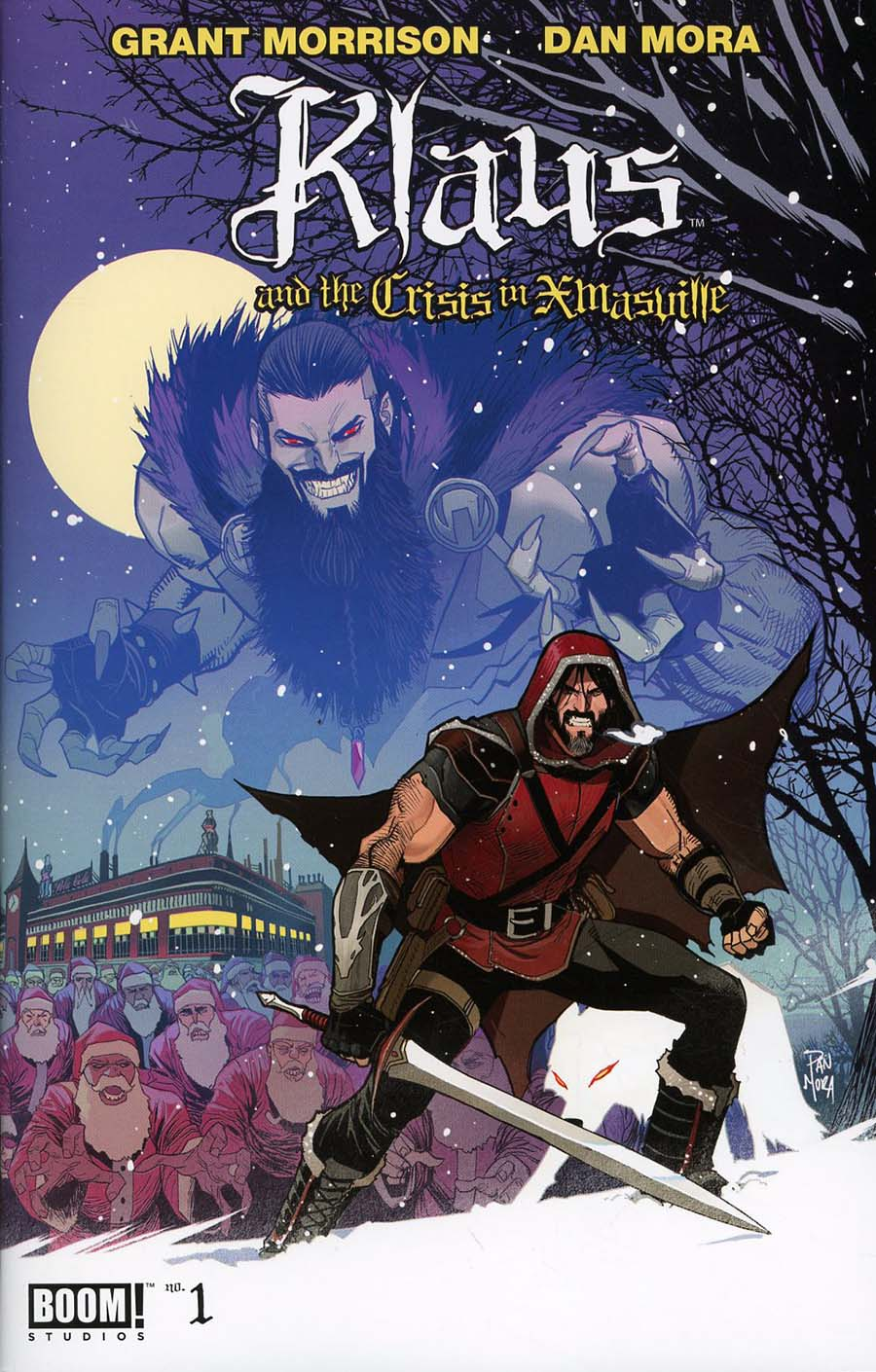 Klaus And The Crisis In Xmasville #1 Cover A Regular Dan Mora Cover