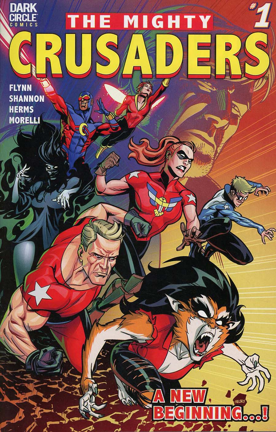 Mighty Crusaders Vol 4 #1 Cover A Regular Kelsey Shannon Cover