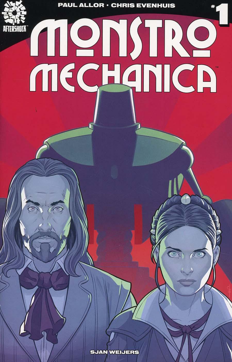 Monstro Mechanica #1 Cover A Regular Chris Evenhuis Cover