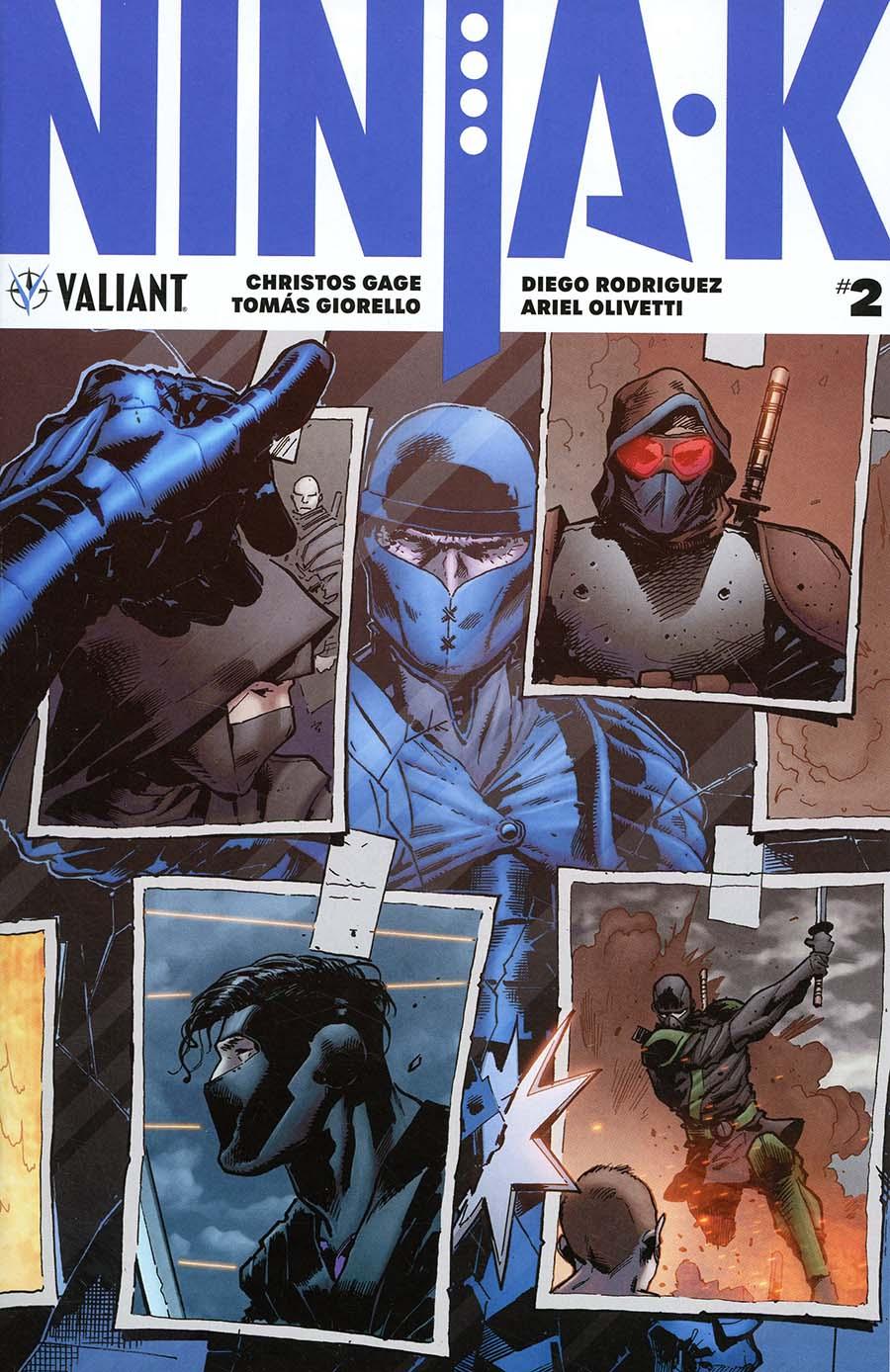 Ninja-K #2 Cover A Regular Trevor Hairsine Cover