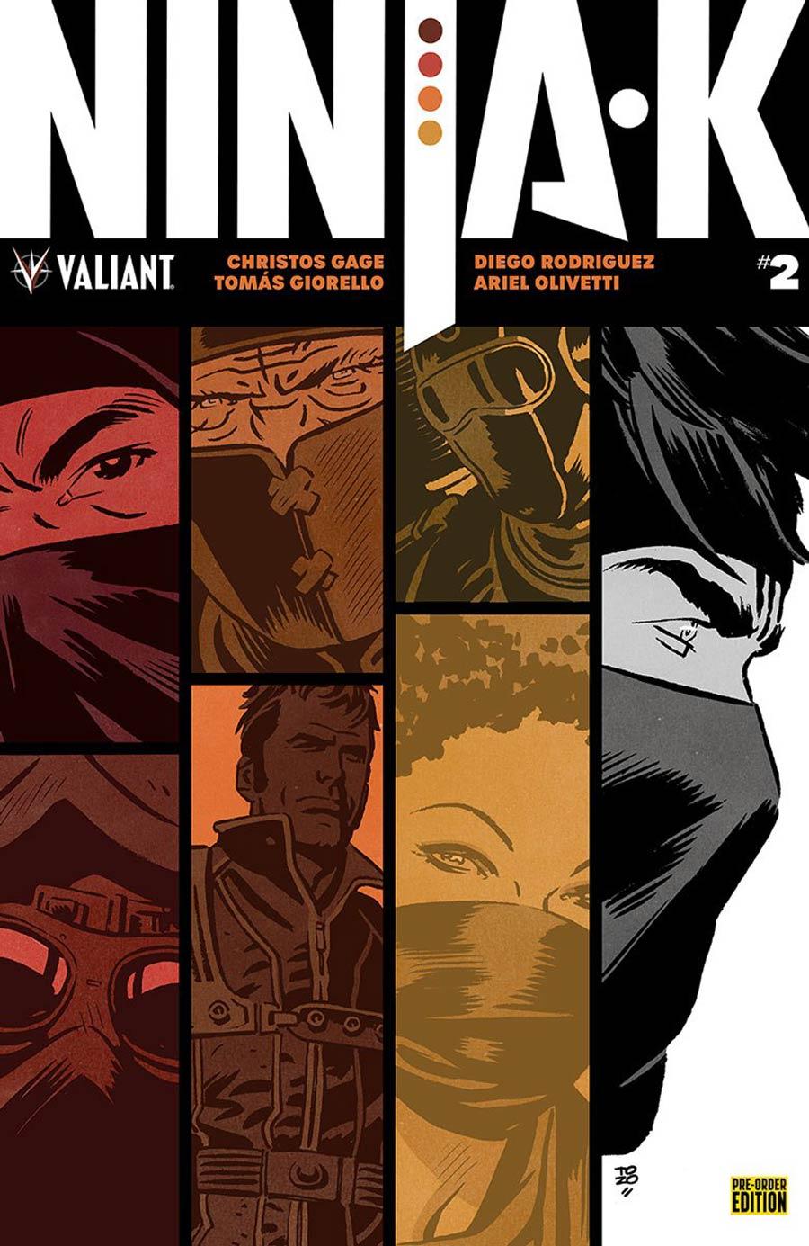 Ninja-K #2 Cover D Variant Tonci Zonjic Cover