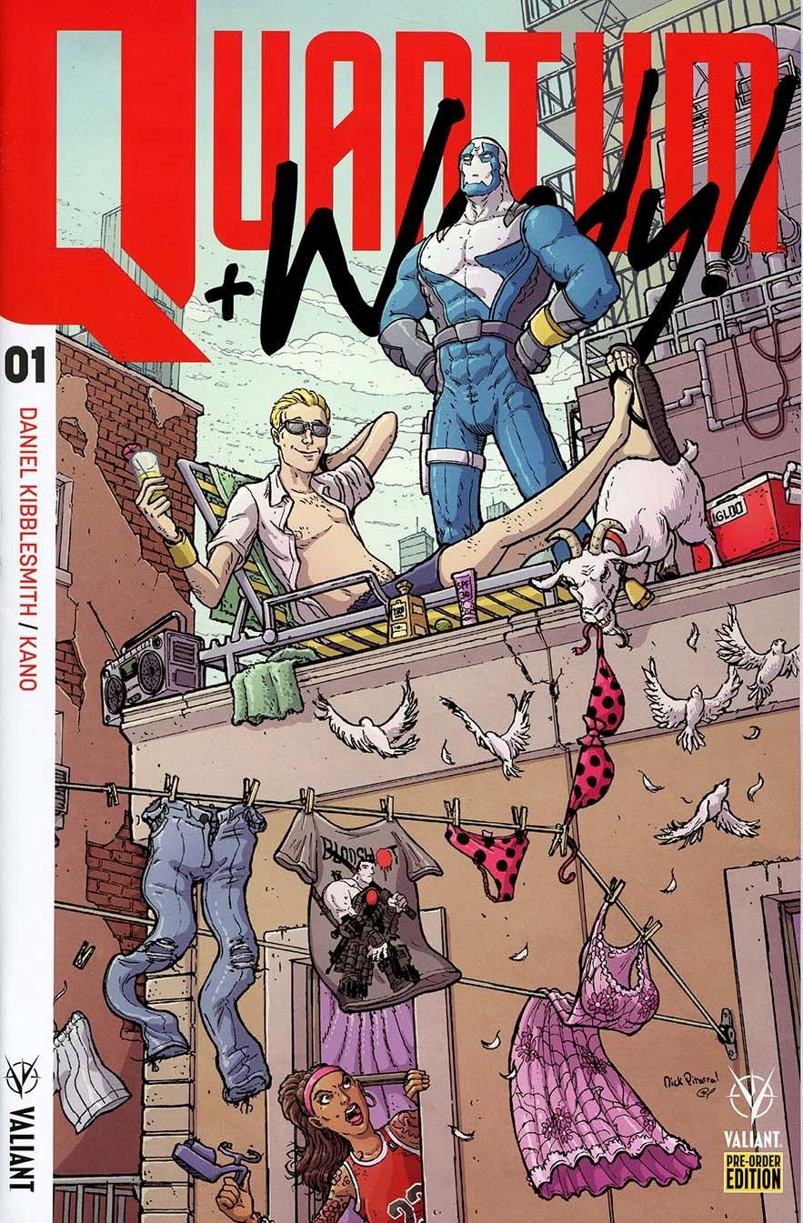 Quantum & Woody Vol 4 #1 Cover C Variant Nick Pitarra Cover