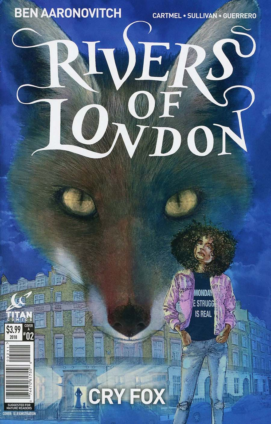 Rivers Of London Cry Fox #2