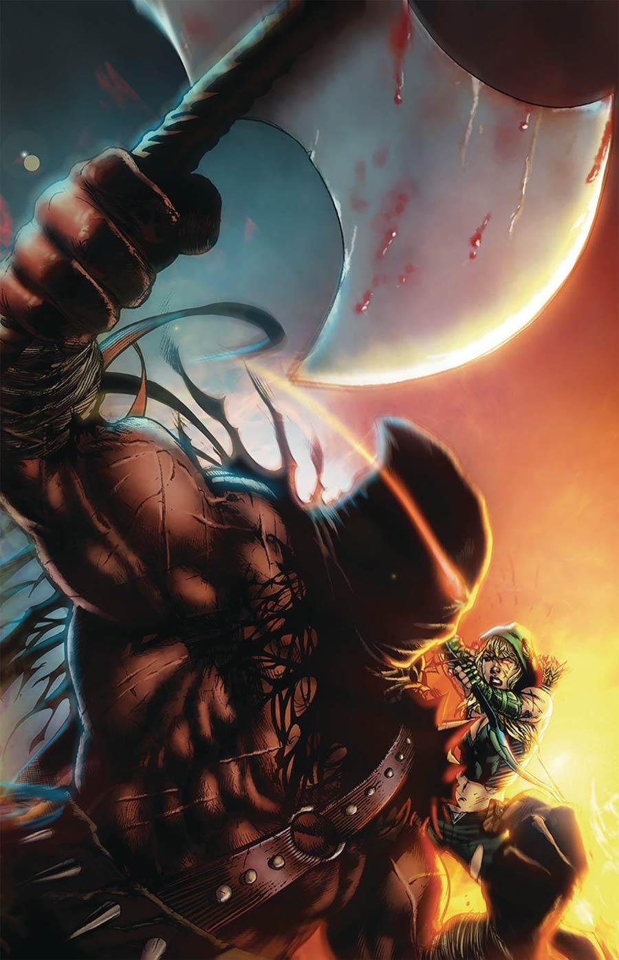 Grimm Fairy Tales Presents Robyn Hood The Hunt #6 Cover B Netho Diaz