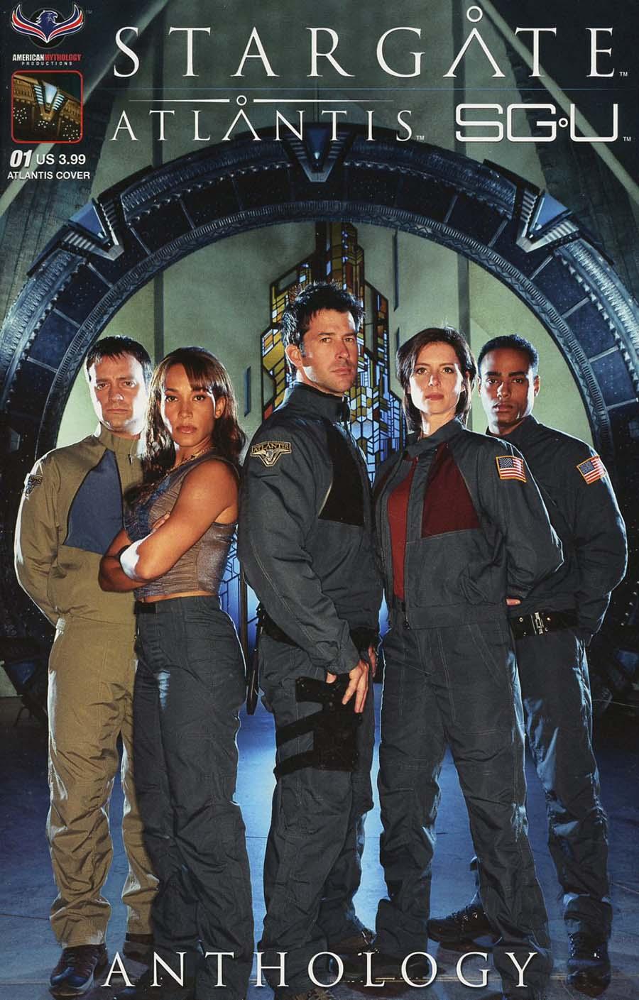 Stargate Atlantis Stargate Universe Anthology One Shot Cover A Regular Greg LaRocque Cover