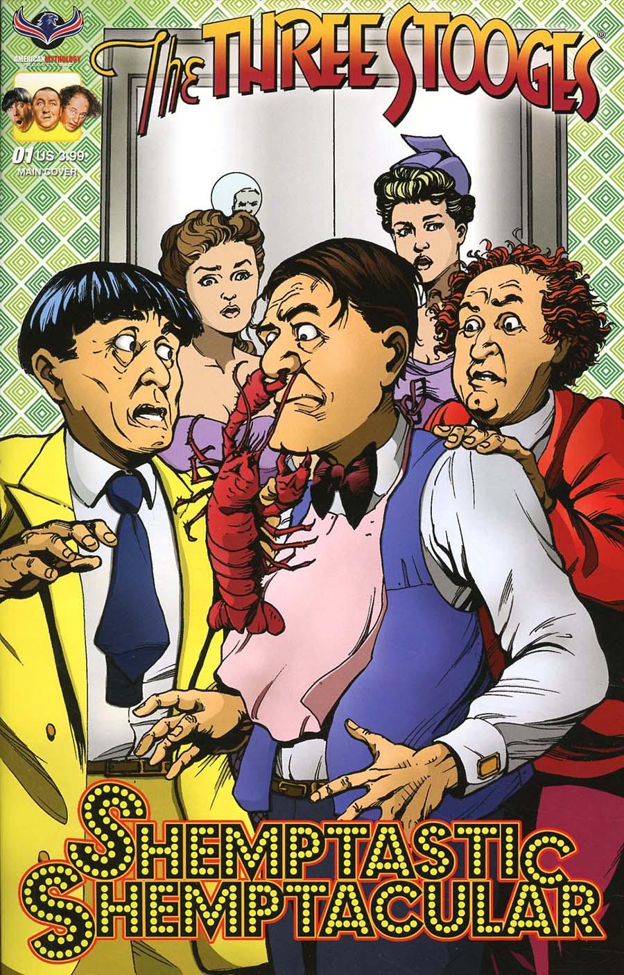 Three Stooges Shemptastic Shemptacular Special Cover A Regular Greg LaRocque Cover
