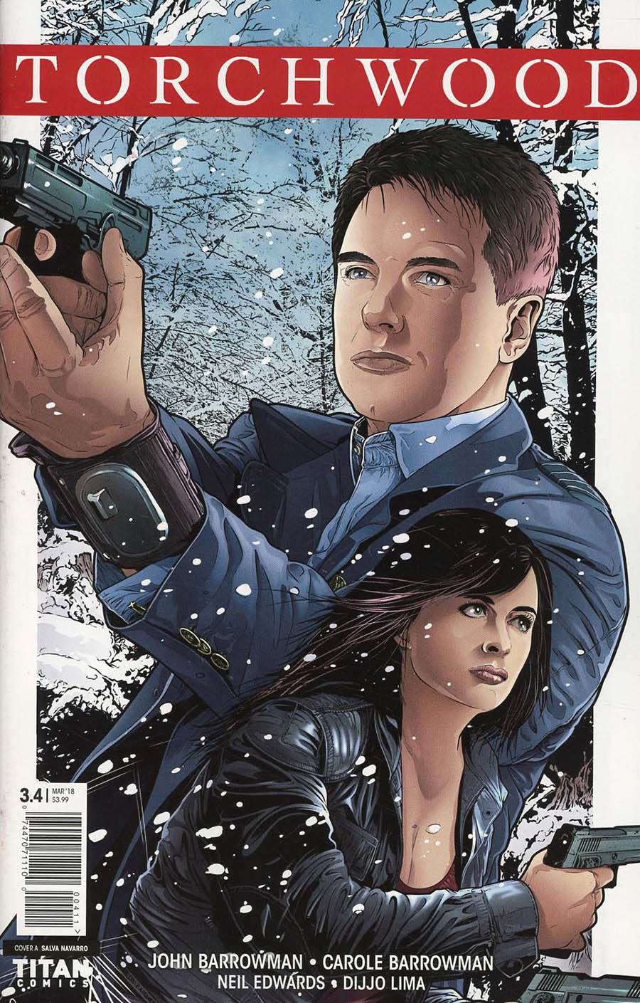 Torchwood The Culling #4 Cover A Regular Salvador Navarro Cover