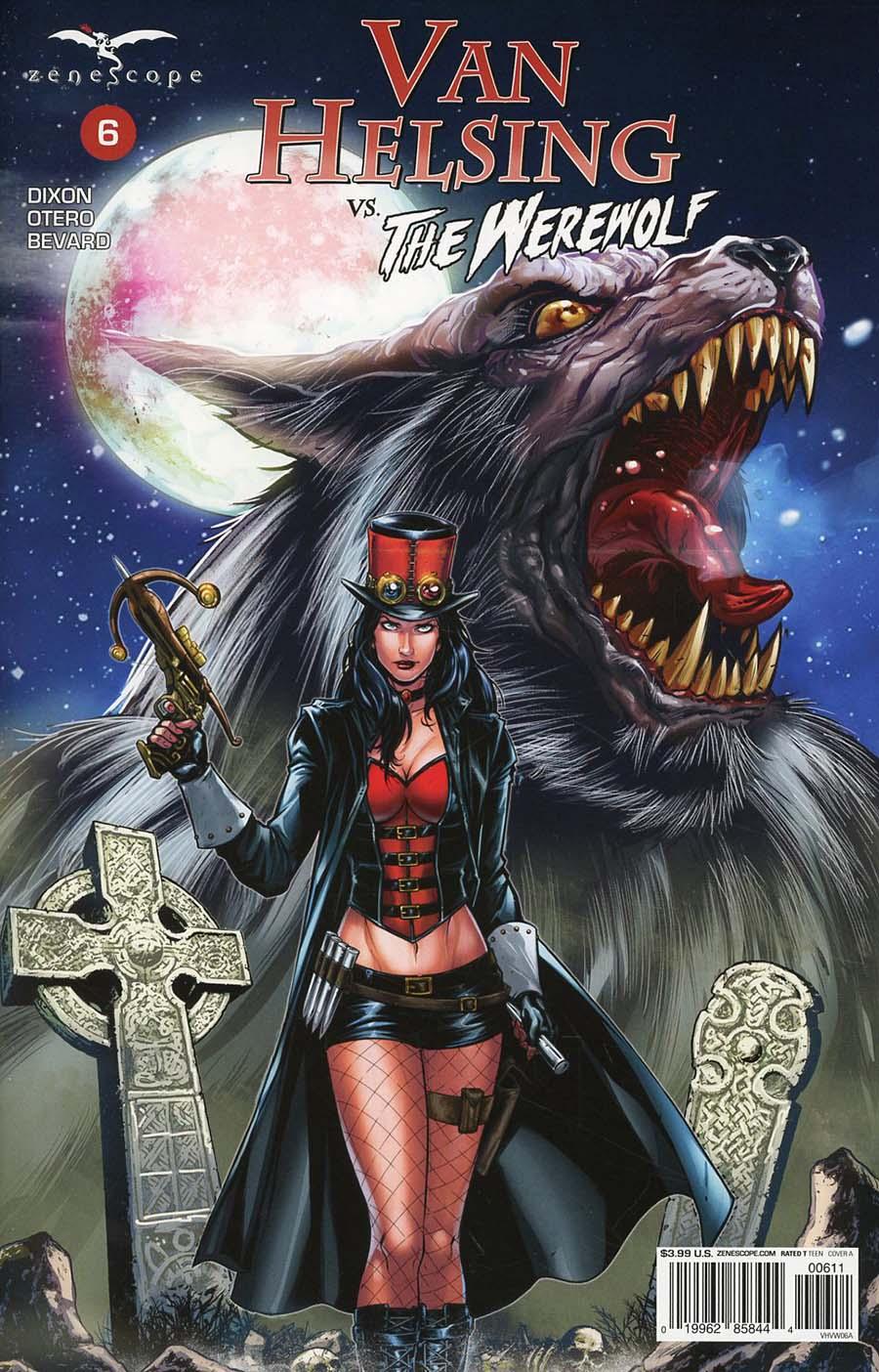 Grimm Fairy Tales Presents Van Helsing vs The Werewolf #6 Cover A Riveiro