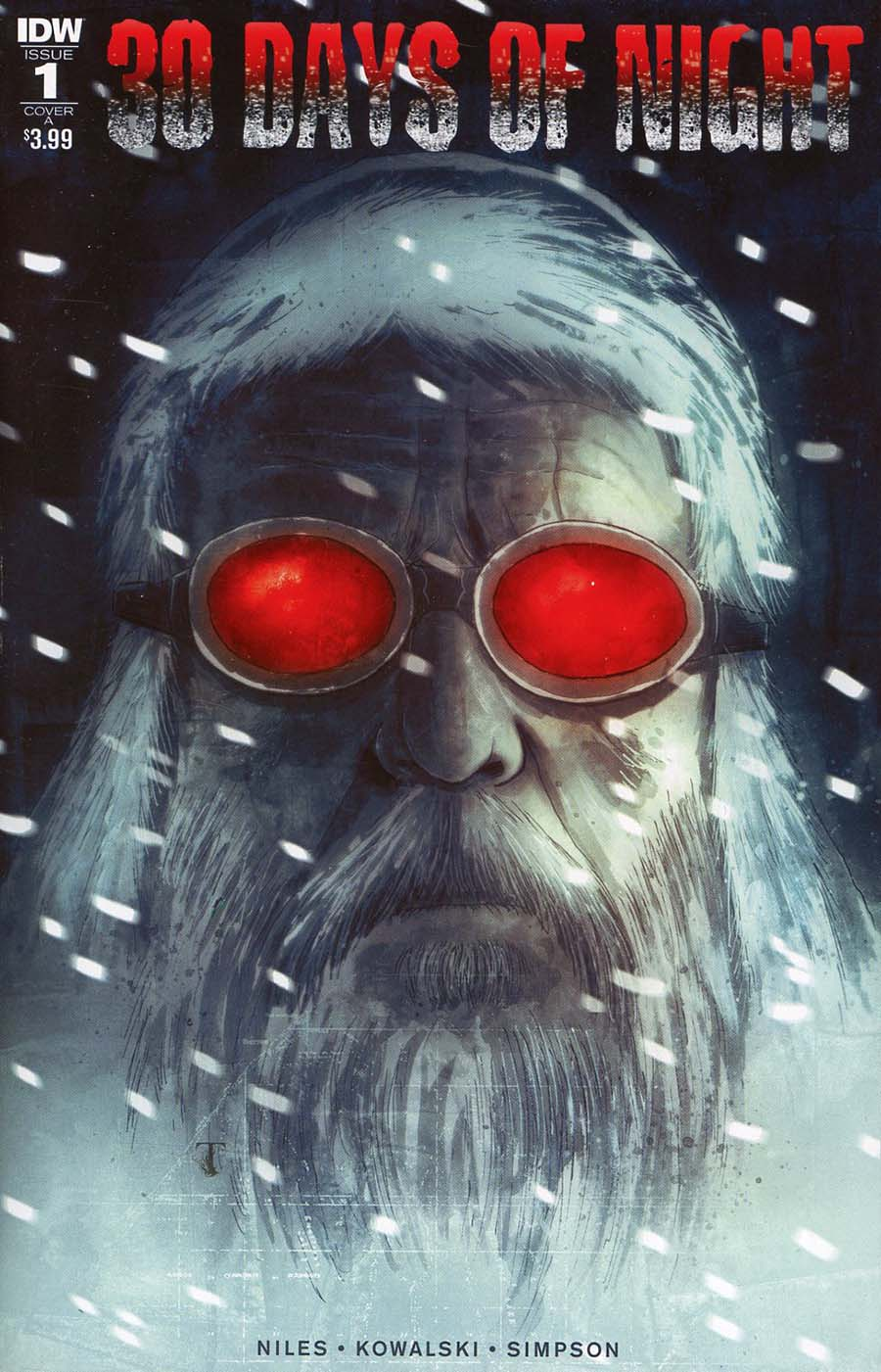 30 Days Of Night Vol 3 #1 Cover A Regular Ben Templesmith Cover