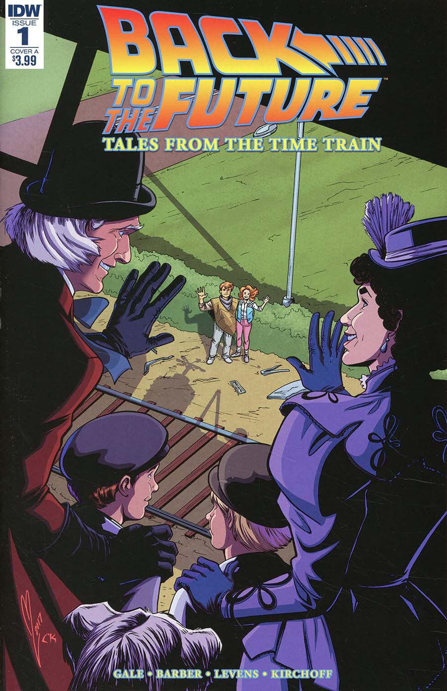 Back To The Future Tales From The Time Train #1 Cover A Regular Megan Levens Cover