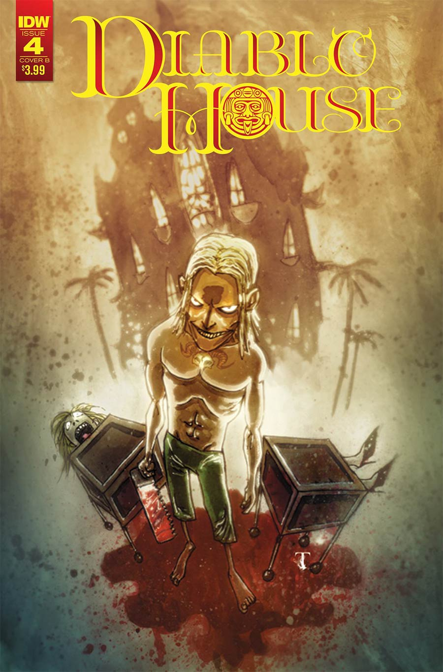 Diablo House #4 Cover B Variant Ben Templesmith Cover