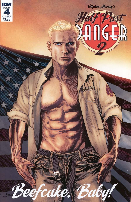 Half Past Danger II Dead To Reichs #4 Cover B Variant Stephen Mooney Cover