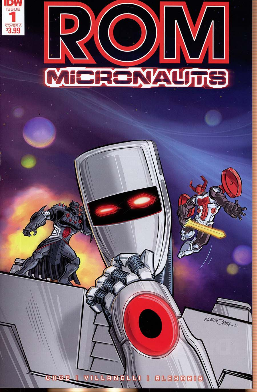 ROM And The Micronauts #1 Cover A Regular Richard Wentworth Cover