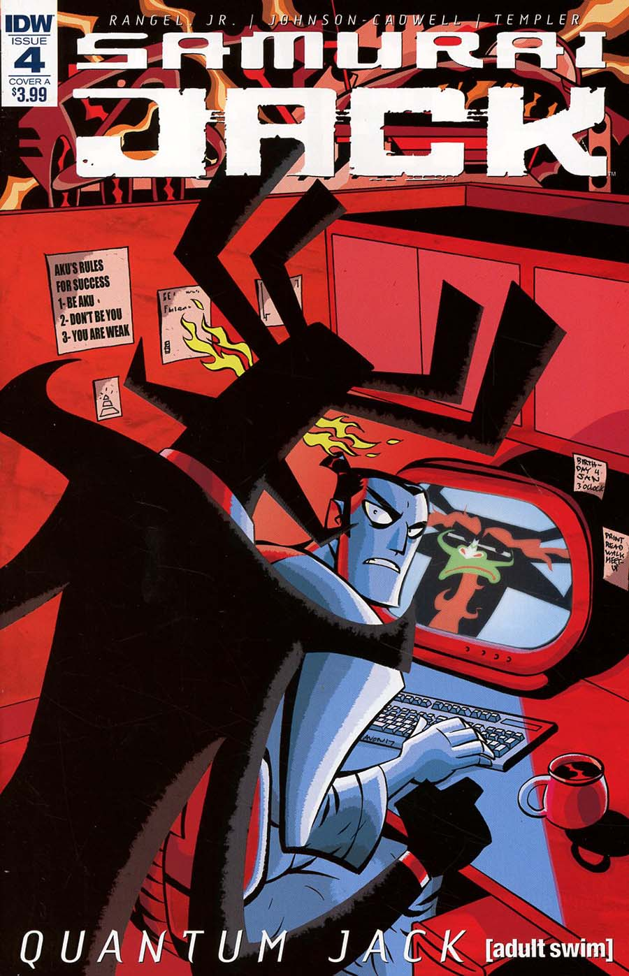 Samurai Jack Quantum Jack #4 Cover A Regular Michael Avon Oeming Cover