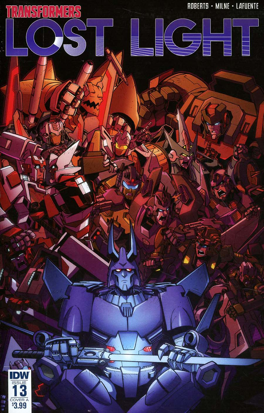 Transformers Lost Light #13 Cover A Regular Jack Lawrence Cover