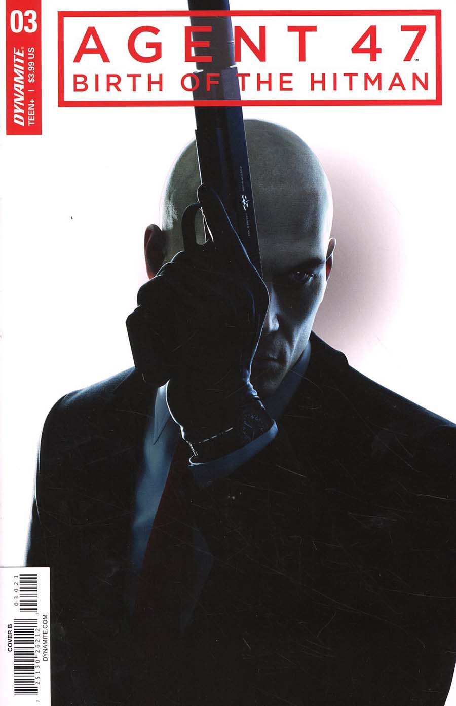 Agent 47 Birth Of The Hitman #3 Cover B Variant Gameplay Cover