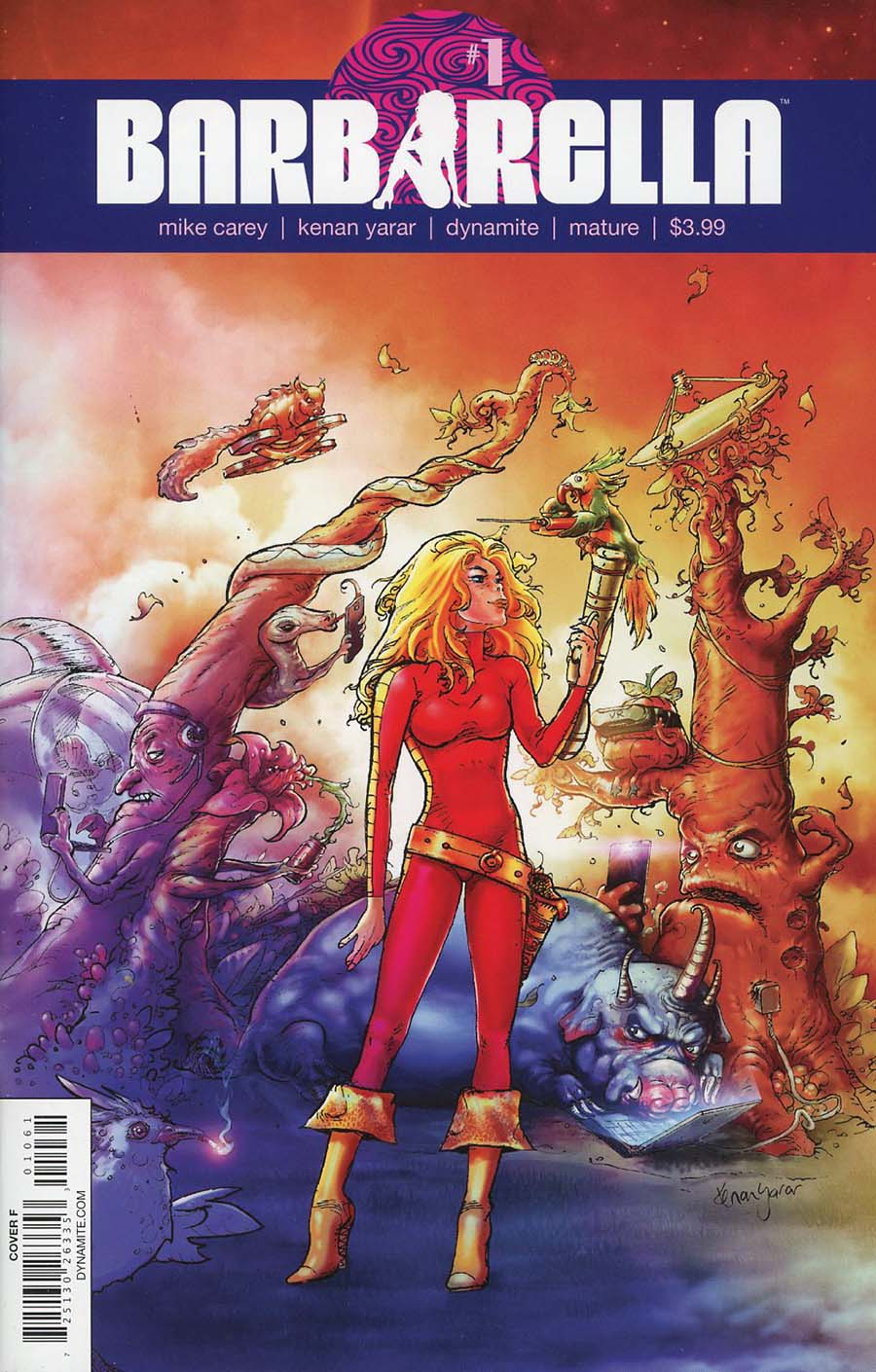 Barbarella #1 Cover F Variant Kenan Yarar Cover