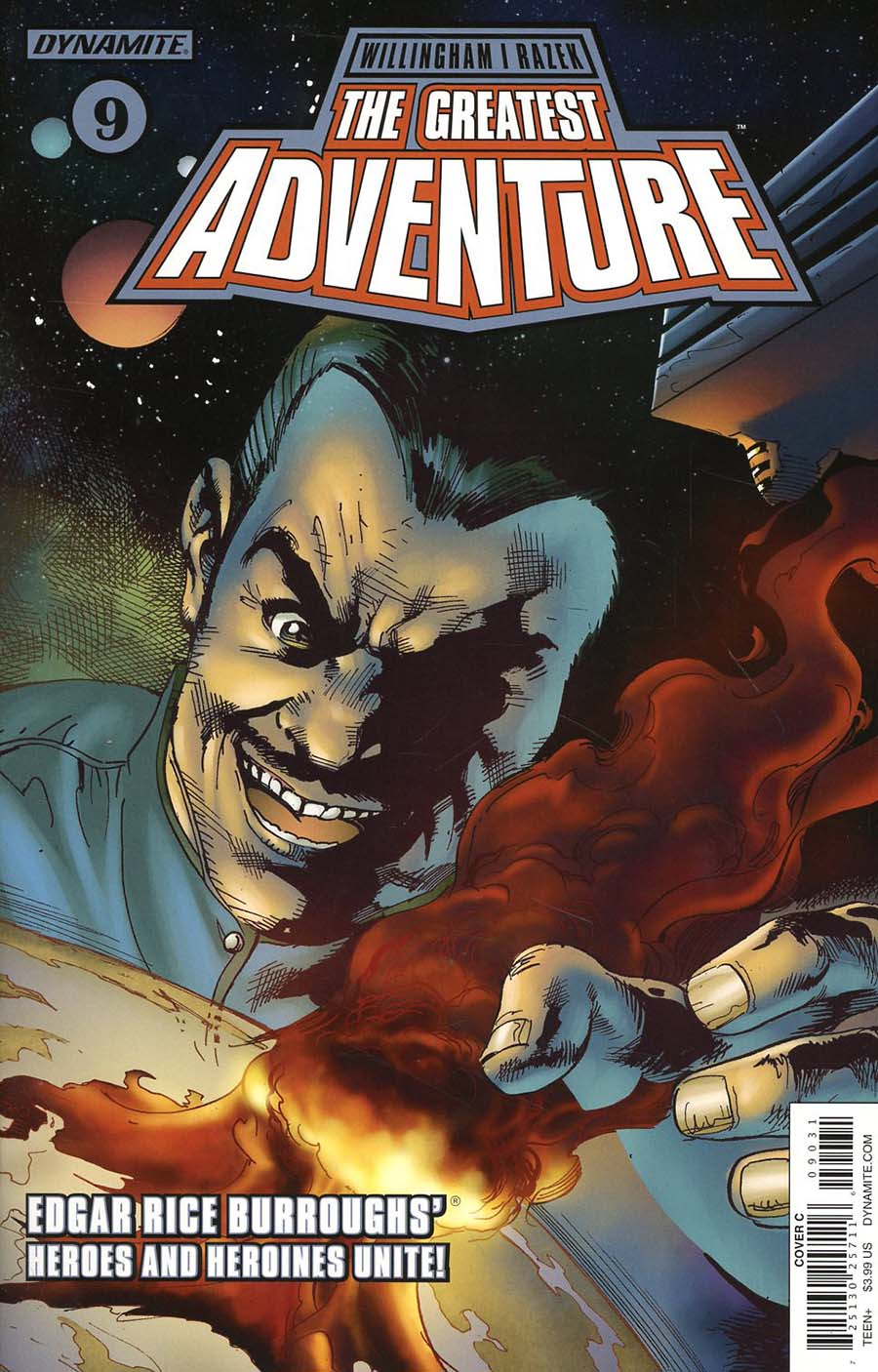 Greatest Adventure #9 Cover C Variant Roberto Castro Cover