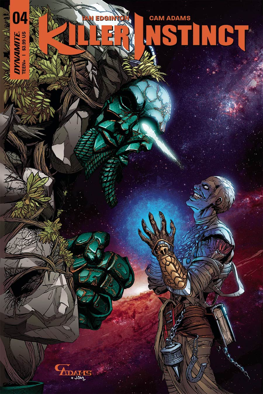 Killer Instinct Vol 2 #4 Cover C Variant Cam Adams Subscription Cover