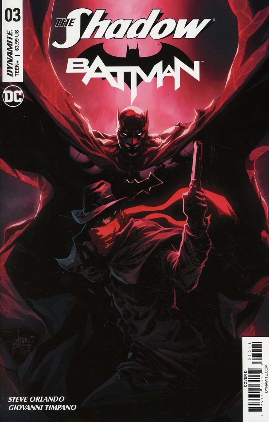 Shadow Batman #3 Cover D Variant Philip Tan Cover