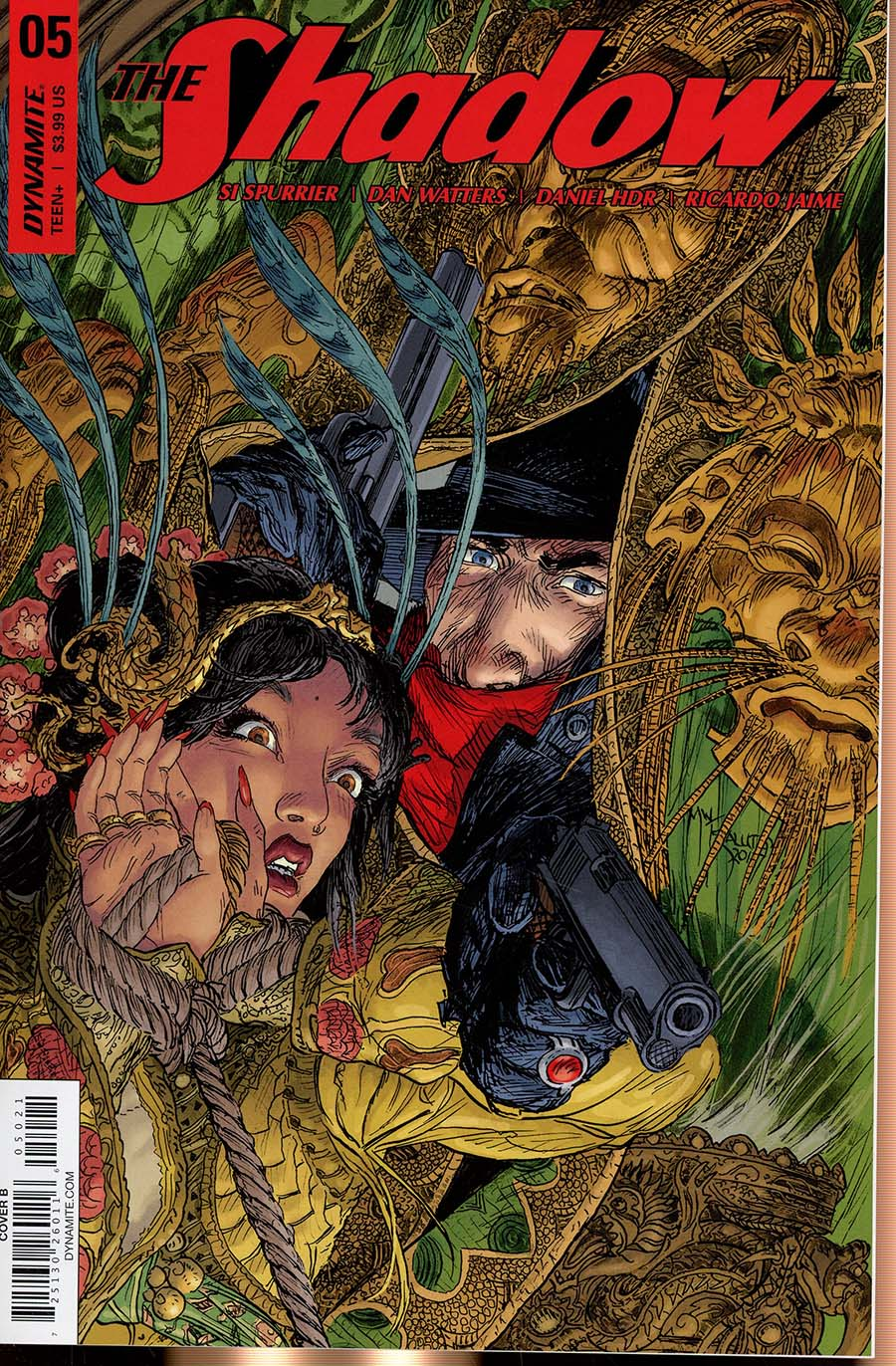 Shadow Vol 7 #5 Cover B Variant Michael William Kaluta Cover