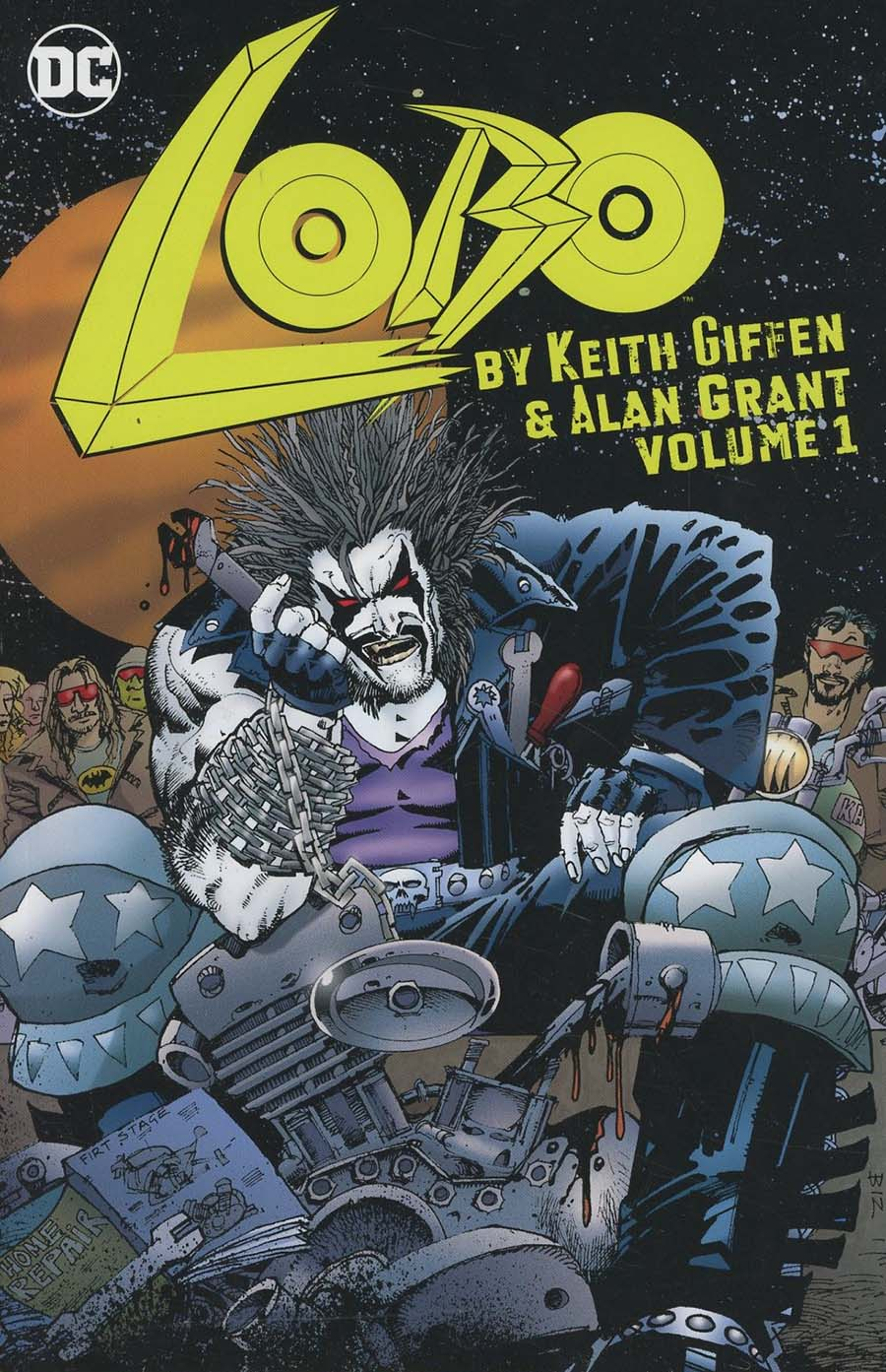 Lobo By Keith Giffen & Alan Grant Vol 1 TP