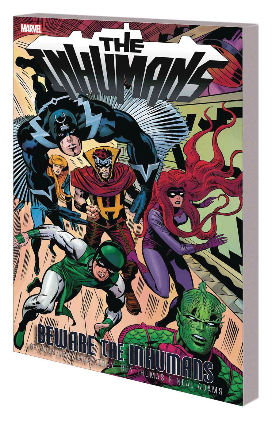 Inhumans Beware The Inhumans TP