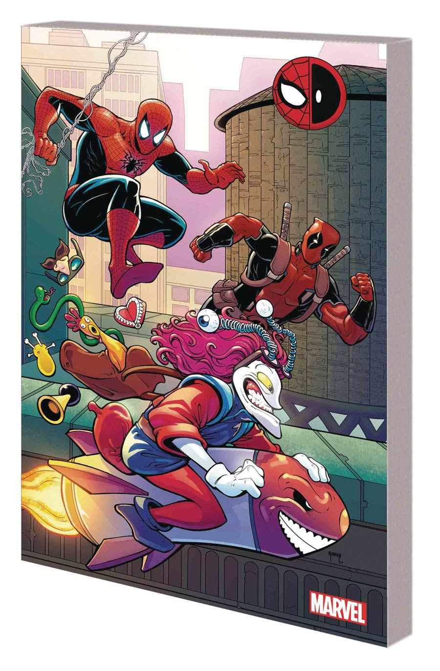 Spider-Man Deadpool Vol 4 Serious Business TP