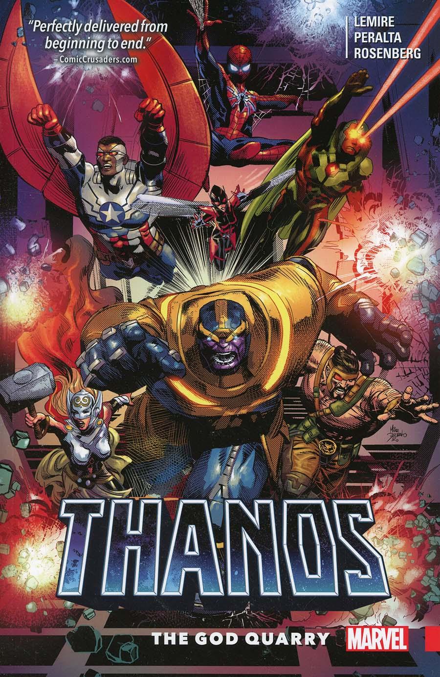 Thanos Vol 2 God Quarry TP