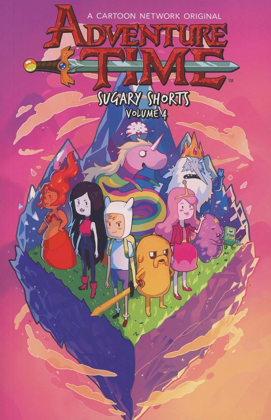 Adventure Time Sugary Shorts Vol 4 TP