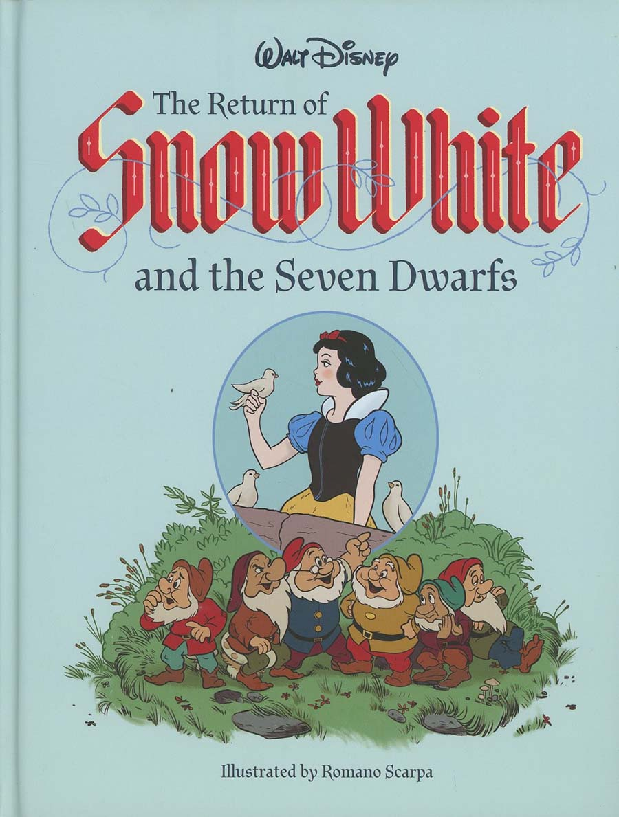 Walt Disney Return Of Snow White And The Seven Dwarfs HC