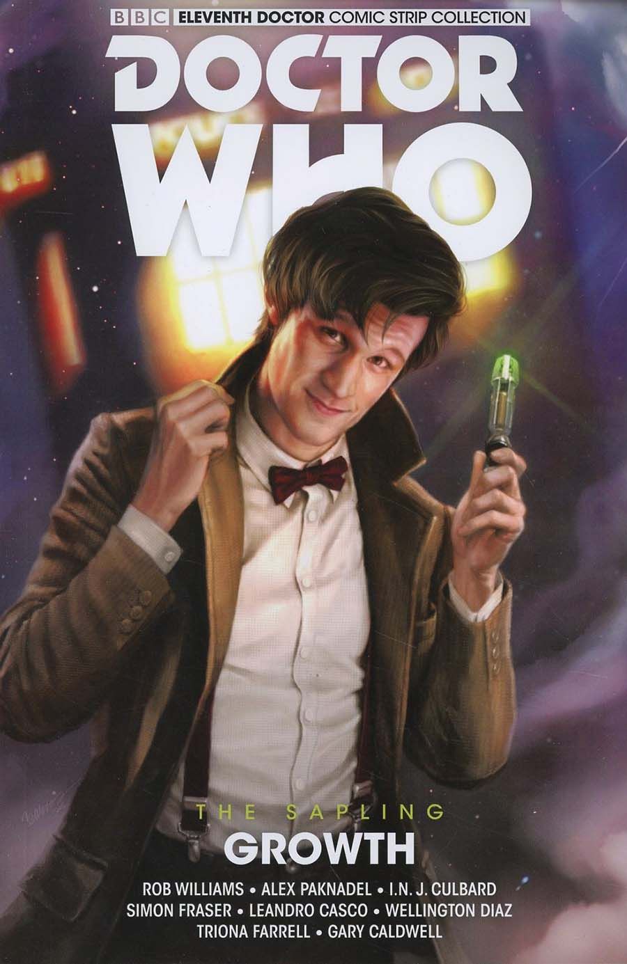 Doctor Who 11th Doctor Sapling Vol 1 Growth TP