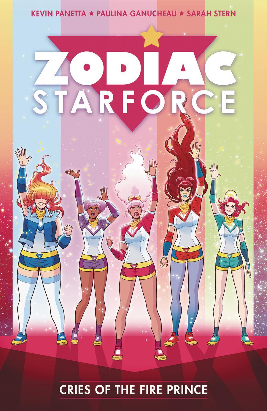 Zodiac Starforce Vol 2 Cries Of The Fire Prince TP