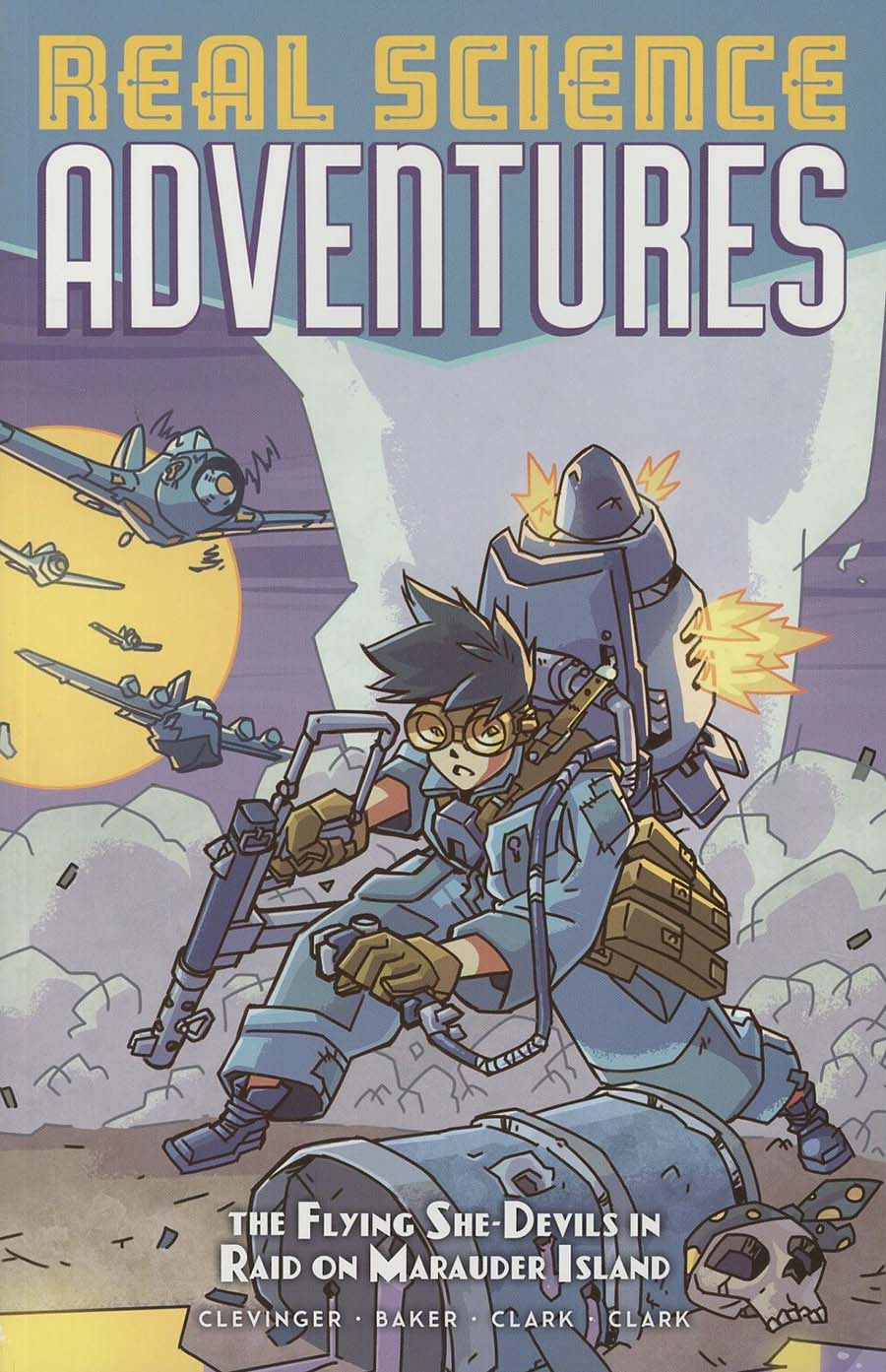 Real Science Adventures Flying She-Devils In Raid On Marauder Island TP