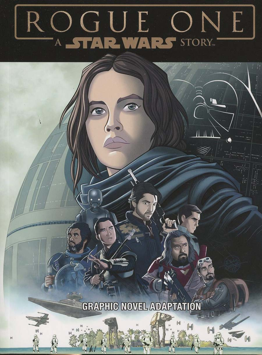 Star Wars Rogue One Graphic Novel Adaptation TP (IDW Publishing)