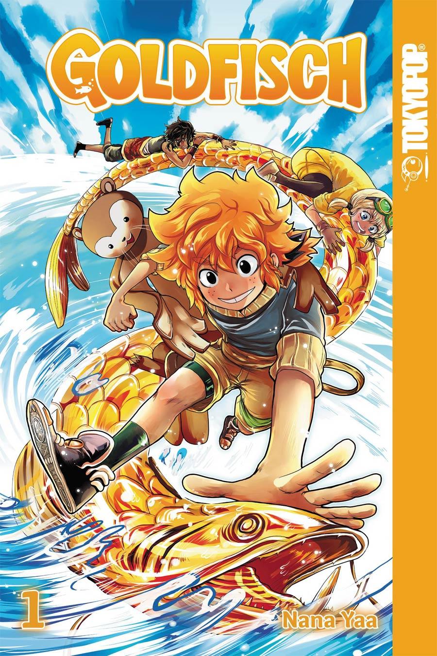 Goldfisch Manga Vol 1 GN