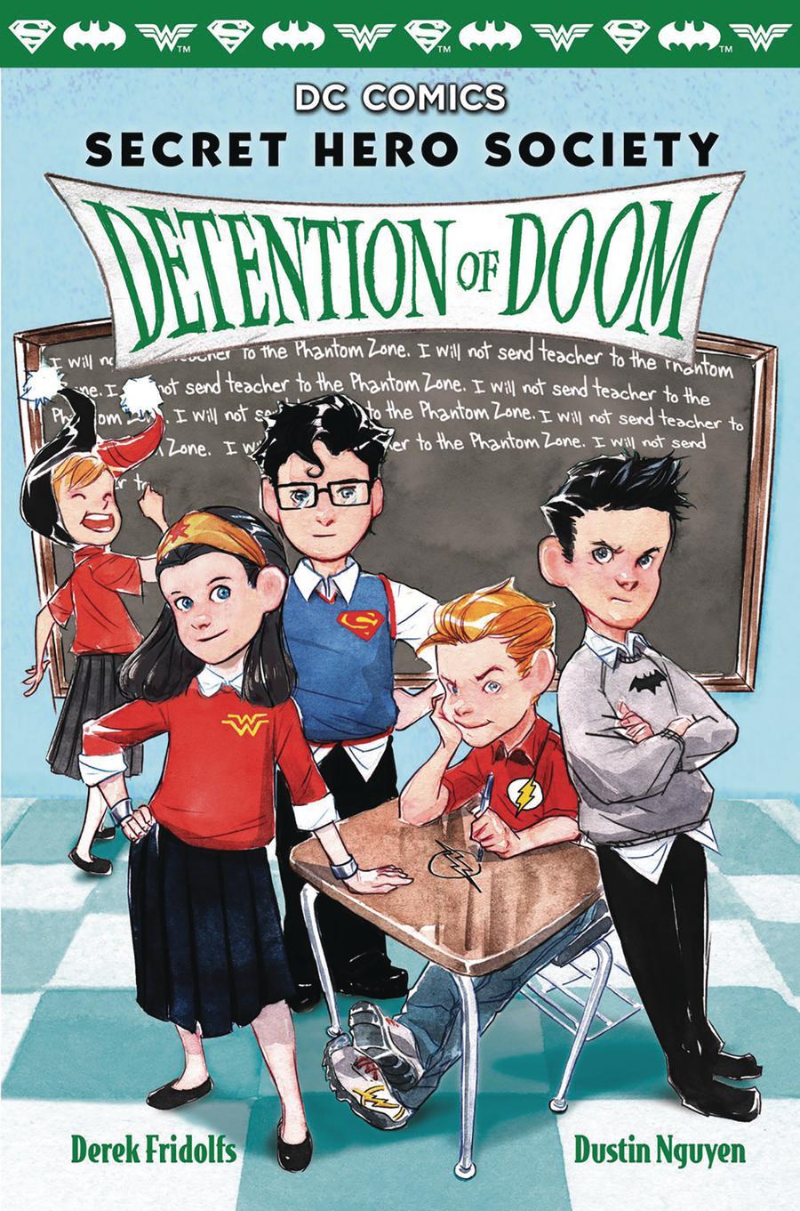 Secret Hero Society Vol 3 Detention Of Doom HC