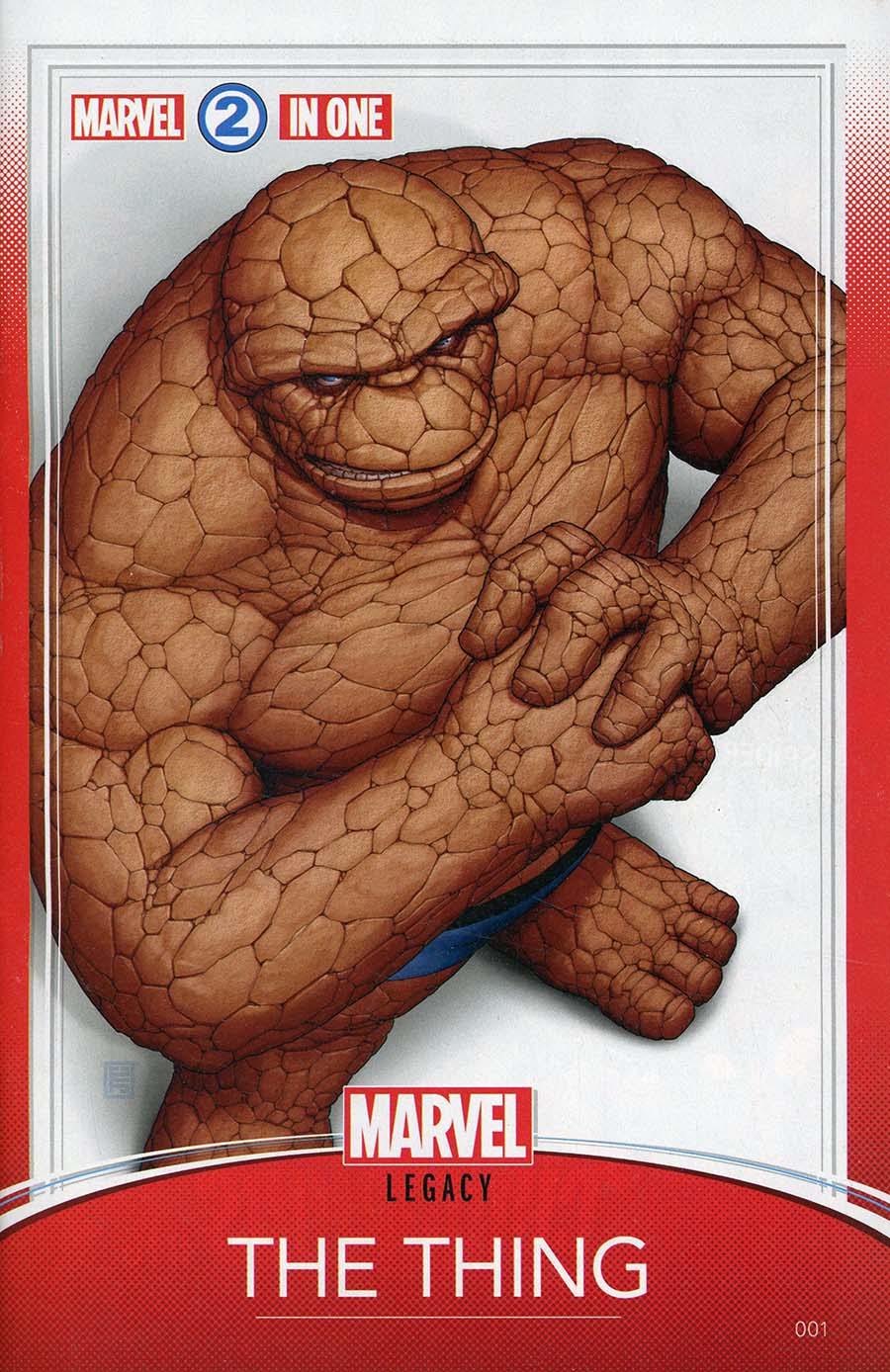 Marvel Two-In-One Vol 3 #1 Cover C Variant John Tyler Christopher Trading Card Cover (Marvel Legacy Tie-In)