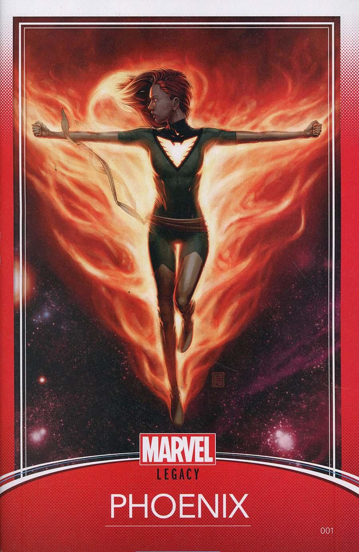 Phoenix Resurrection Return Of (Adult) Jean Grey #1 Cover D Variant John Tyler Christopher Trading Card Cover (Marvel Legacy Tie-In)
