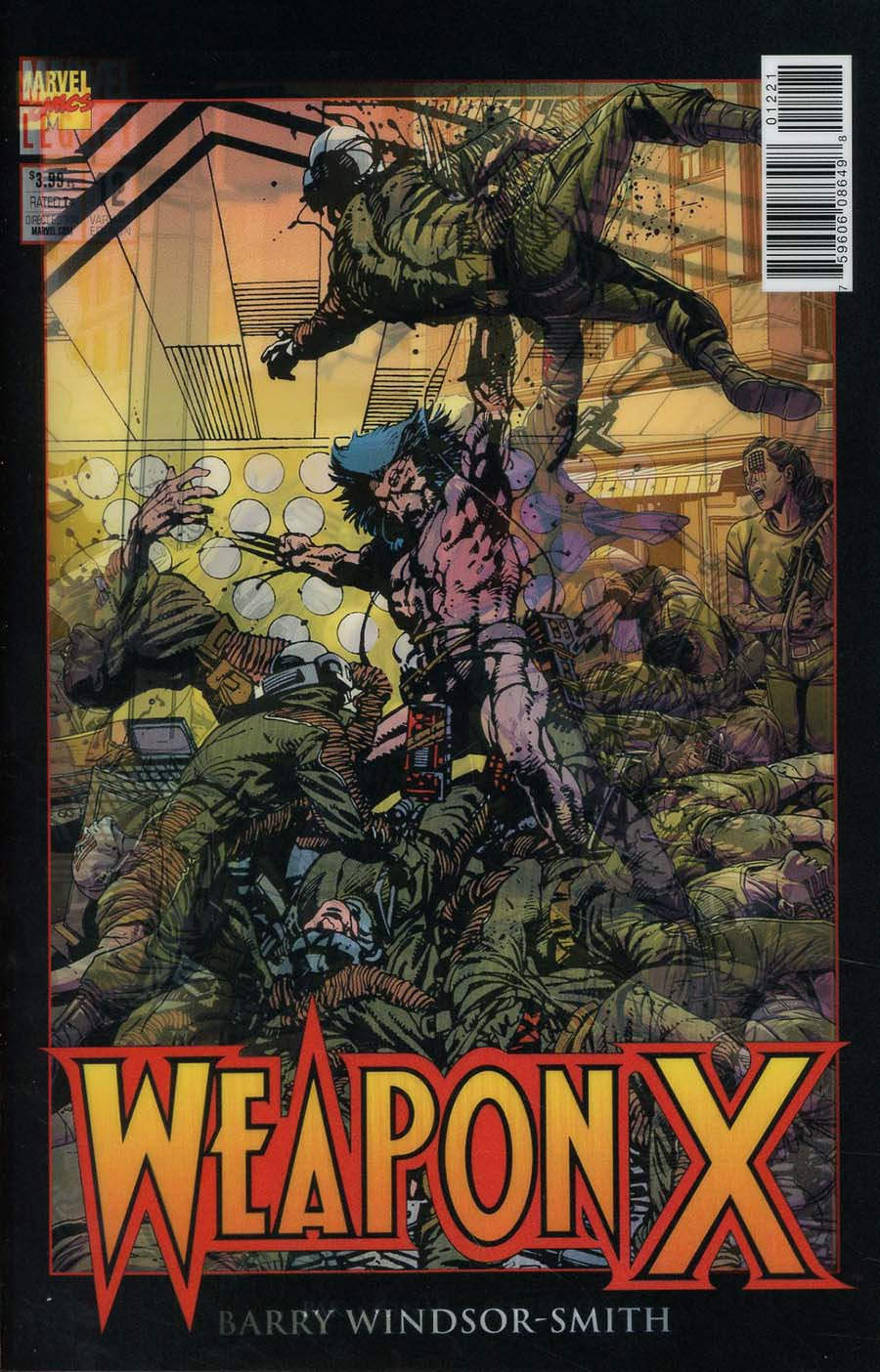 Weapon X Vol 3 #12 Cover B Variant Marc Laming Lenticular Homage Cover (Marvel Legacy Tie-In)