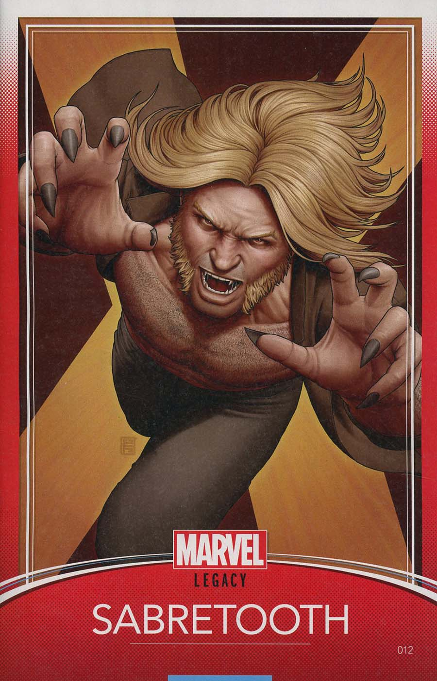 Weapon X Vol 3 #12 Cover C Variant John Tyler Christopher Trading Card Cover (Marvel Legacy Tie-In)