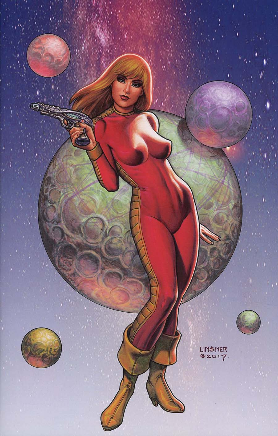 Barbarella #1 Cover N Incentive Joseph Michael Linsner Virgin Cover