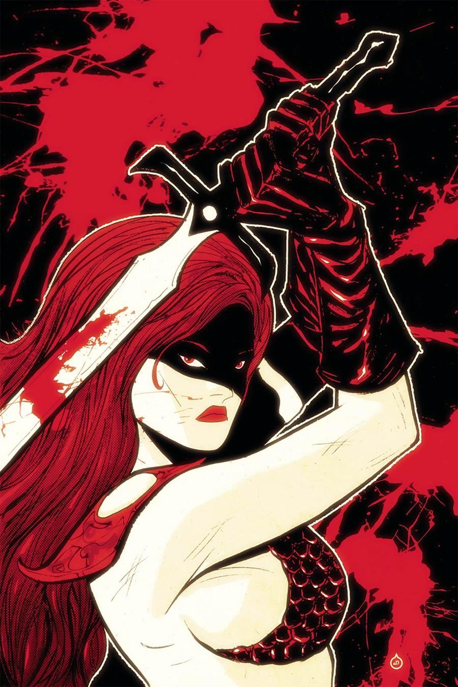 Red Sonja Vol 7 #12 Cover G Incentive Juan Doe Virgin Cover