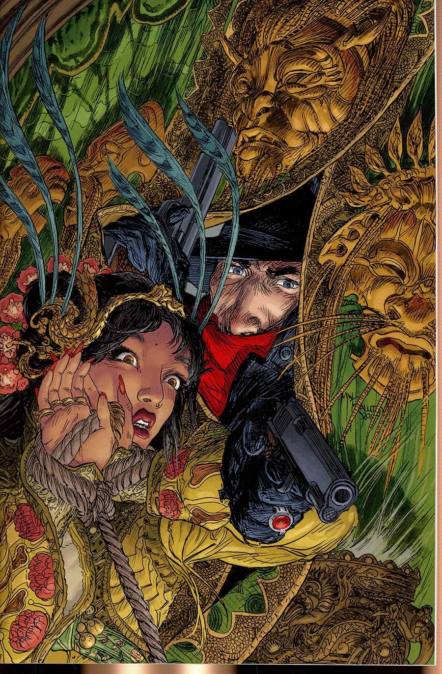 Shadow Vol 7 #5 Cover E Incentive Michael William Kaluta Virgin Cover