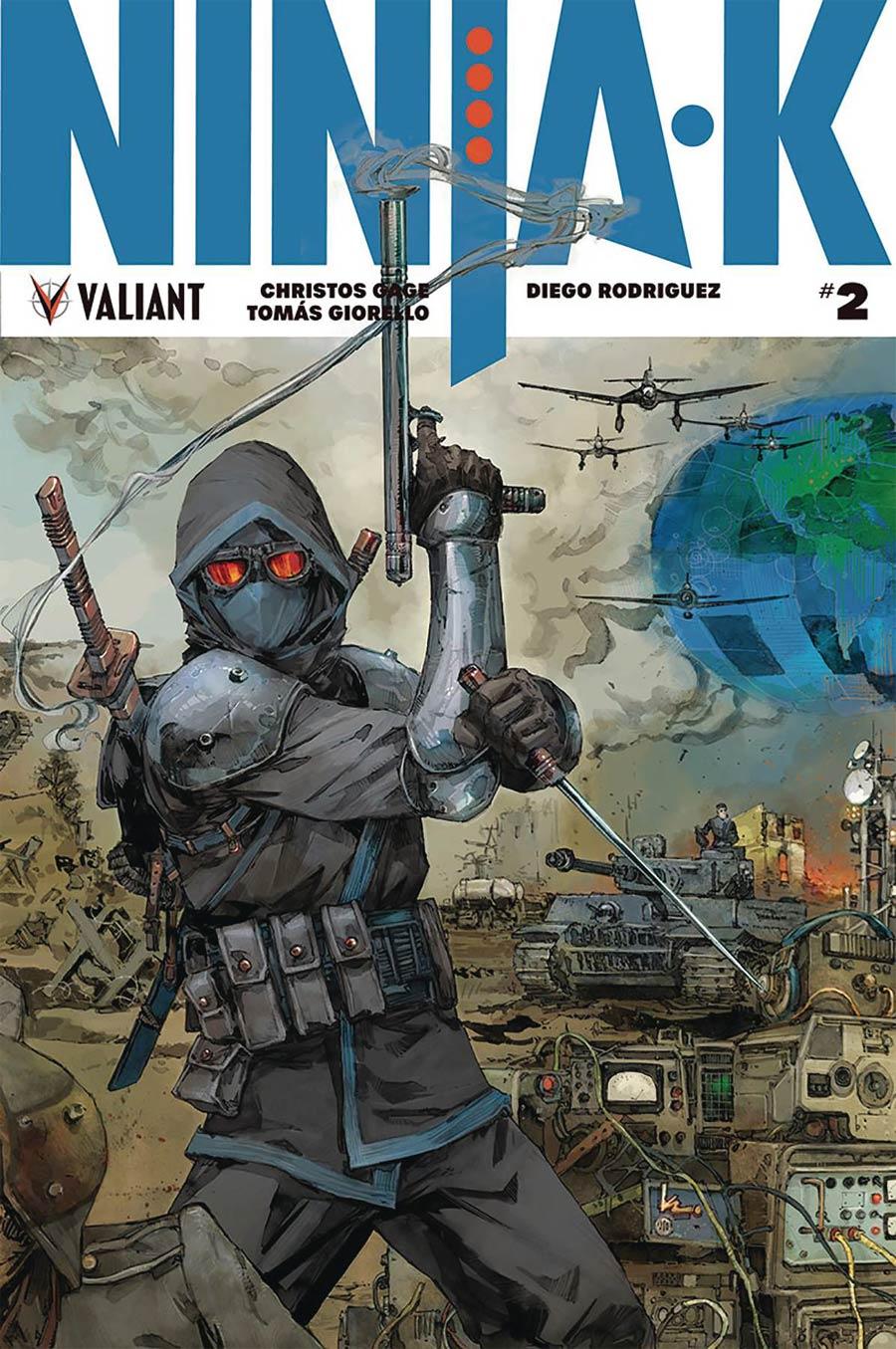 Ninja-K #2 Cover E Incentive Kenneth Rocafort Interlocking Variant Cover