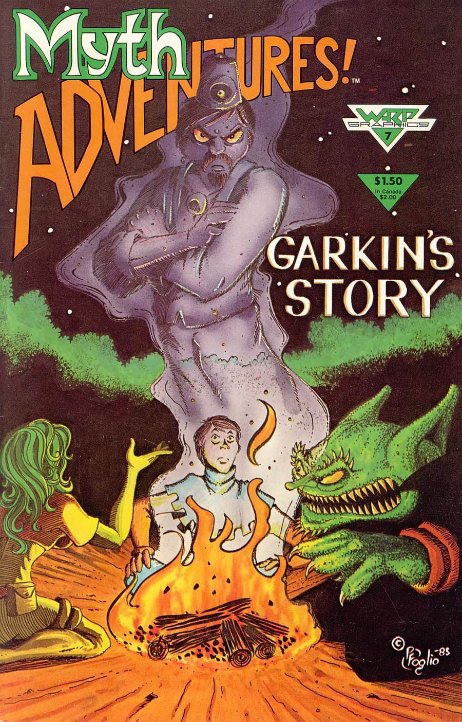 Myth Adventures #7