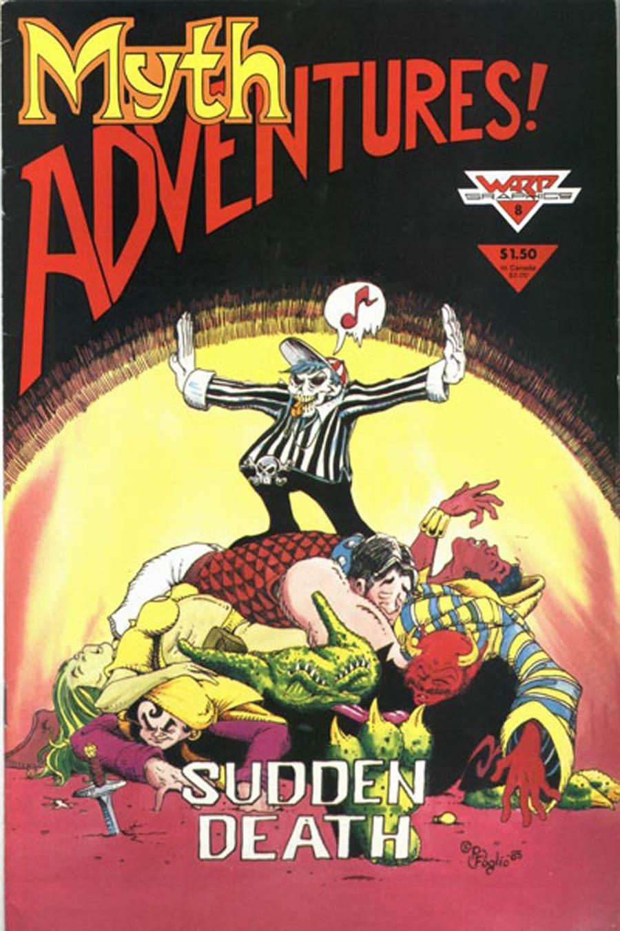 Myth Adventures #8