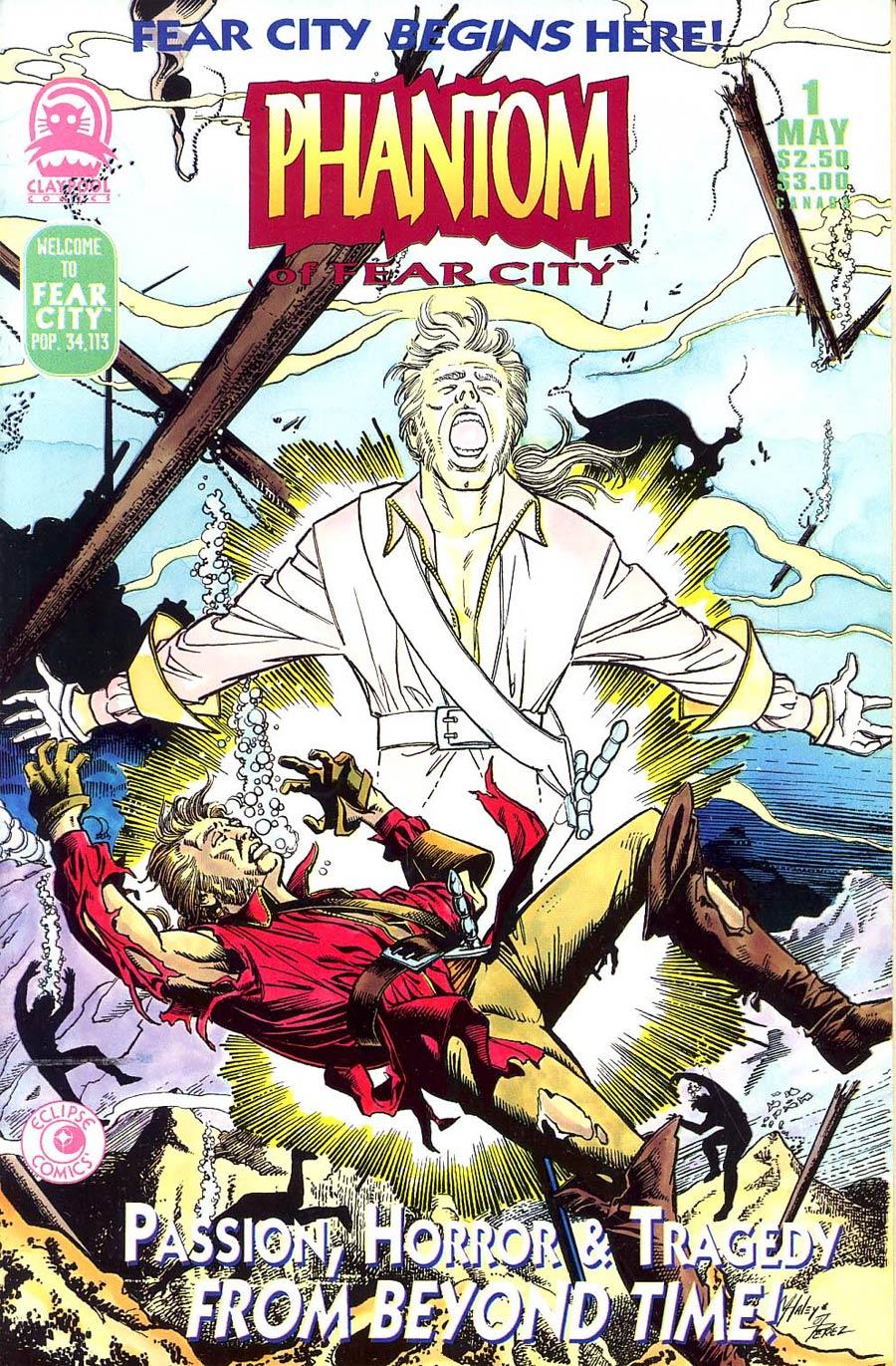 Phantom of Fear City #1