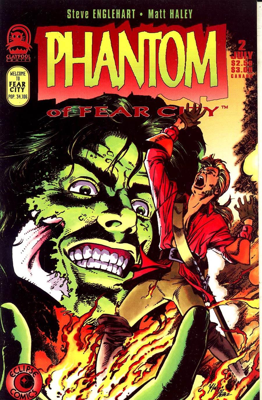 Phantom of Fear City #2